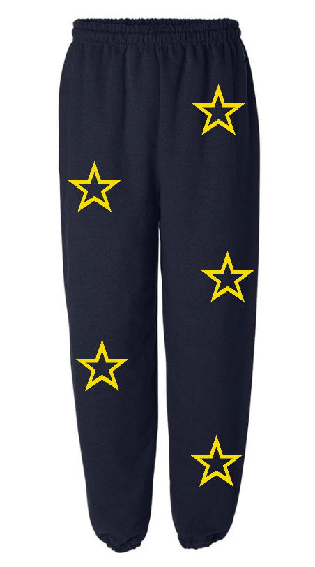 You're A Star Navy Sweatpants