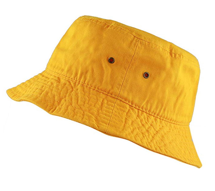 Athletic Gold Bucket Hat