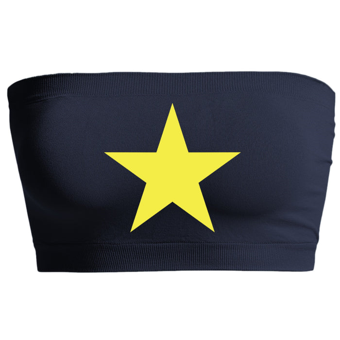 Star Navy Seamless Bandeau
