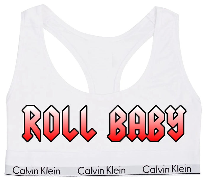Roll Baby Rocker Cotton Bralette