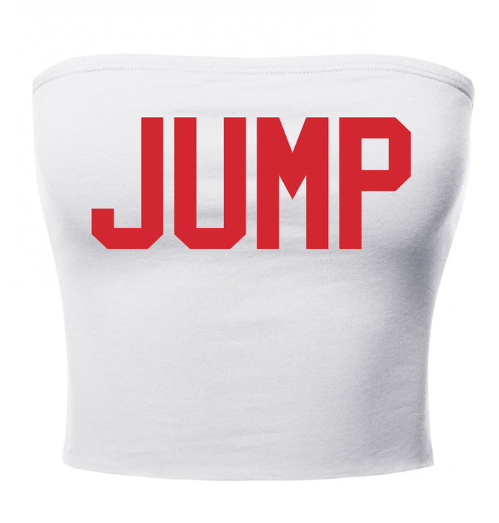 Jump Cotton Tube Top