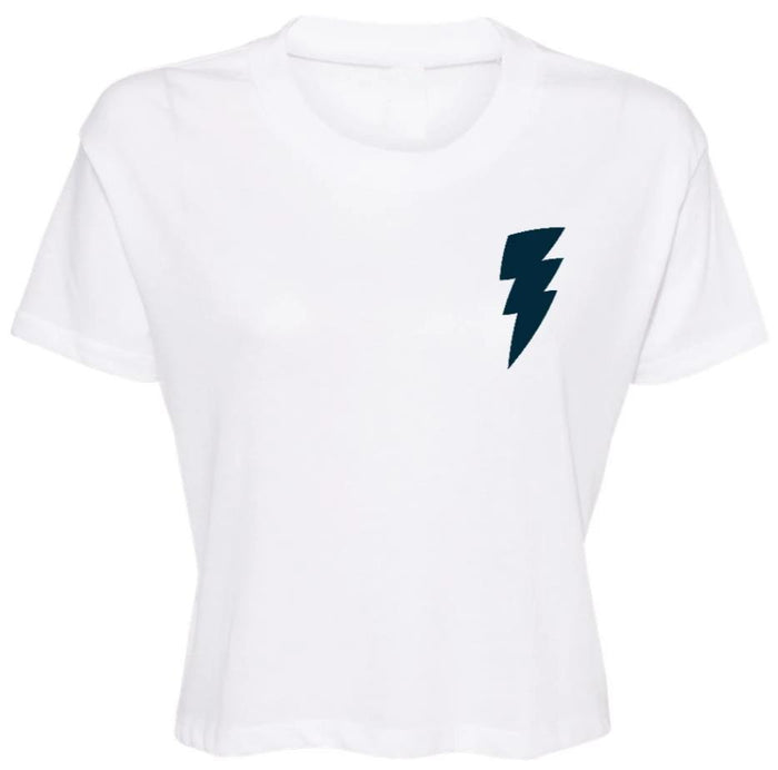 Lightning Jersey Cropped Tee