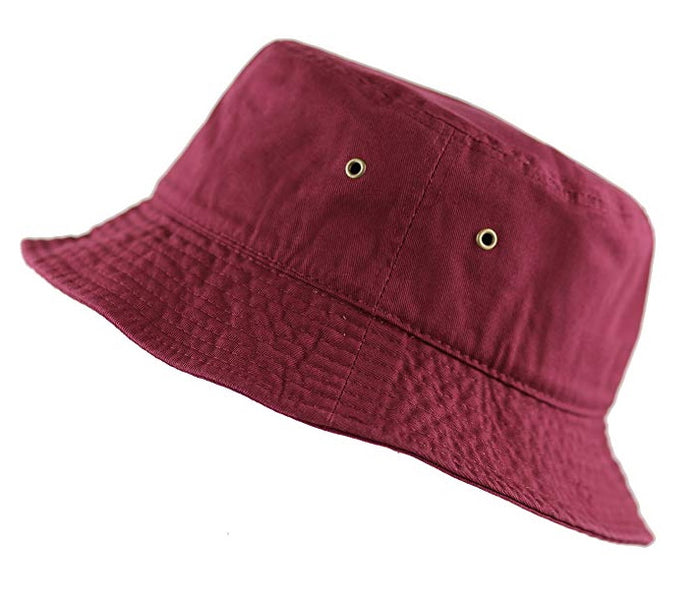 Maroon Bucket Hat