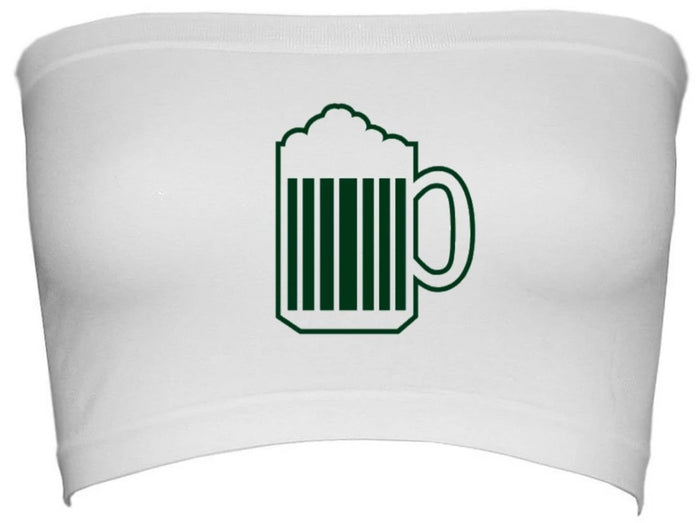 Bottoms Up Green Beer Seamless Bandeau