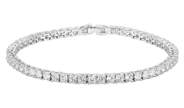 Game Set Match Plated Tennis Bracelet