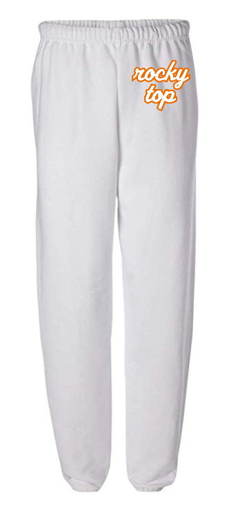 Rocky Top White Sweatpants
