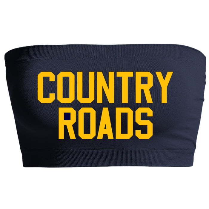 Country Roads Navy Seamless Bandeau