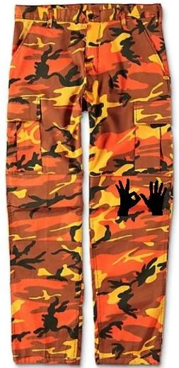 305 Hands The Real Camo Pants