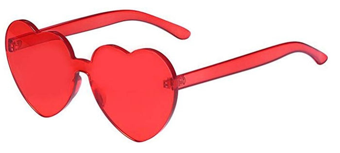 Red Heart Candy Colored Sunglasses