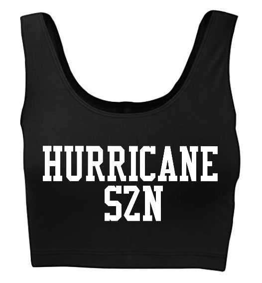 Hurricane SZN Tank Crop Top