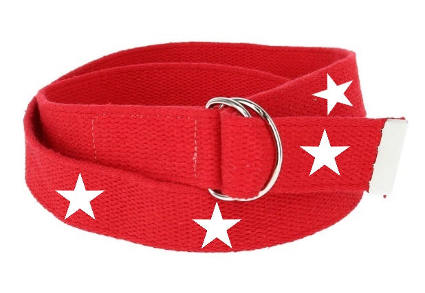 Red & White Star Utility Belt