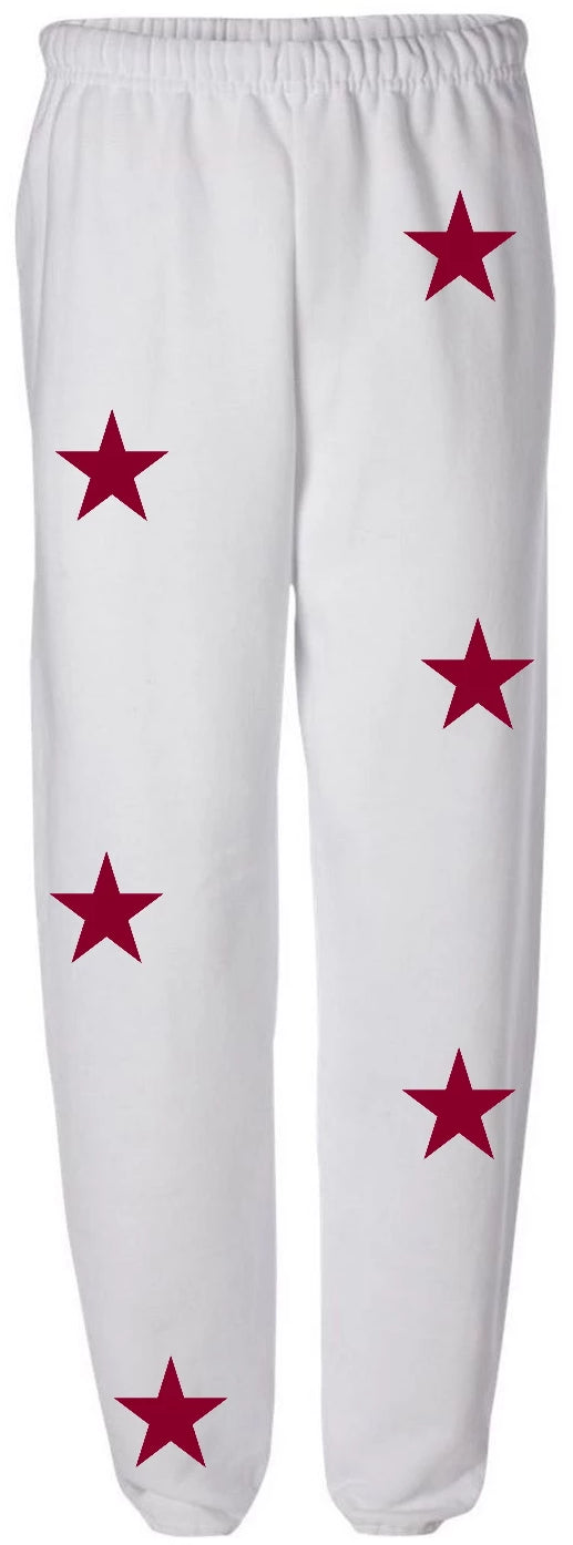 Star White Sweatpants