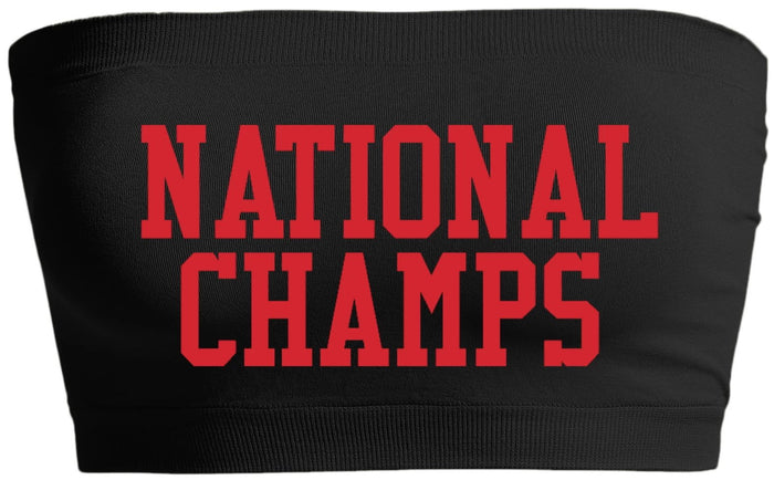 National Champs Seamless Bandeau