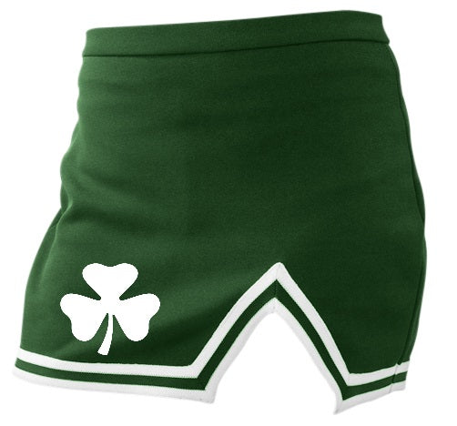 Shamrock A-Line Notched Cheer Skirt
