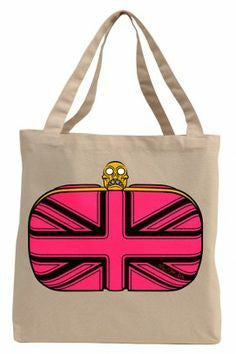 The Queen of Everything Hand Painted Canvas Tote