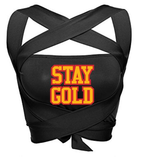 STAY GOLD Multiway Wrap Bandeau