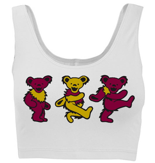 Beary Cute Tank Crop Top