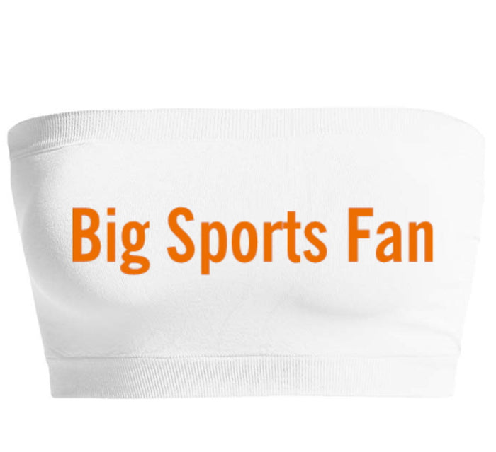 Big Sports Fan Seamless Bandeau