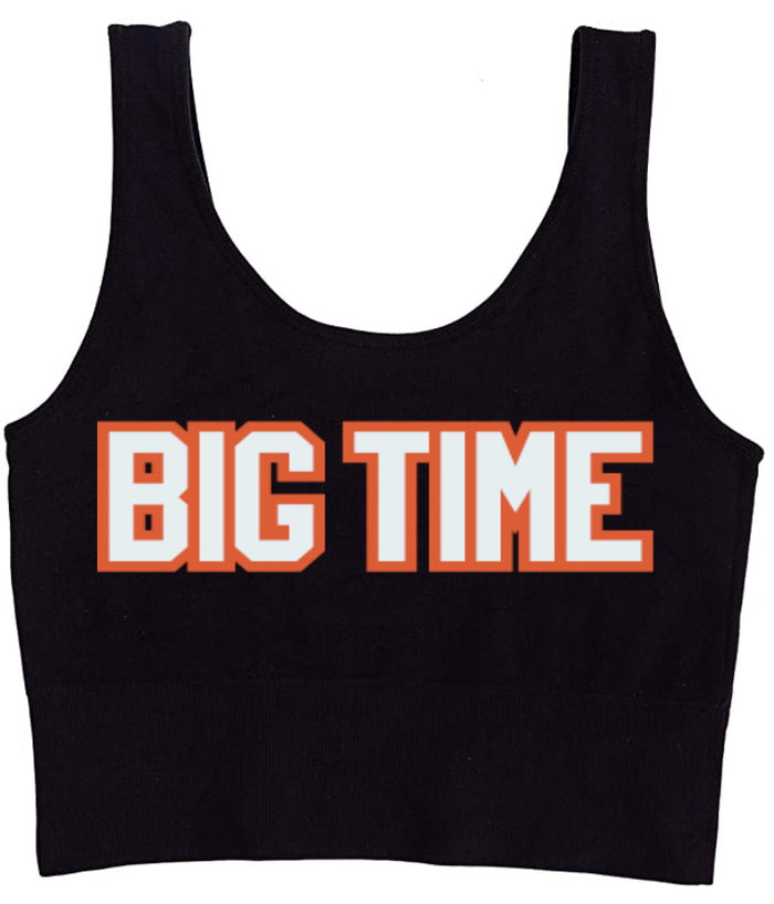 Big Time Seamless Tank Crop Top