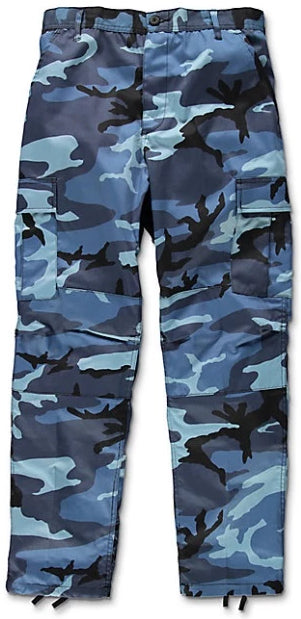 The Real Blue Camo Pants