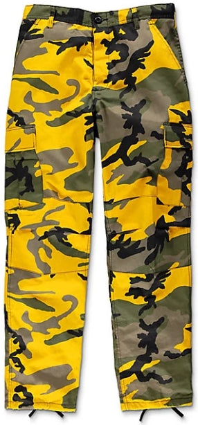 The Real Yellow Camo Pants
