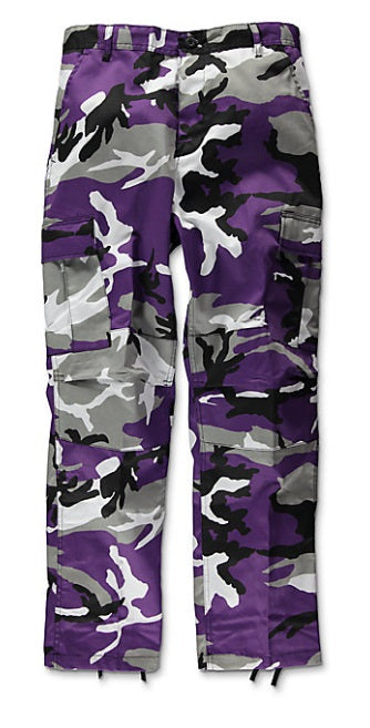 The Real Purple Camo Pants