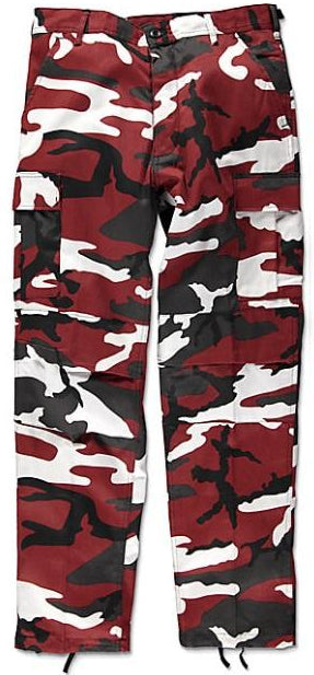 The Real Red Camo Pants