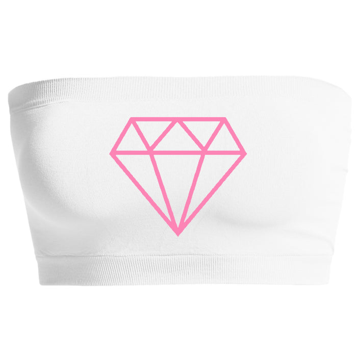 Custom Diamond Seamless Bandeau- Customize Your Diamond Color!
