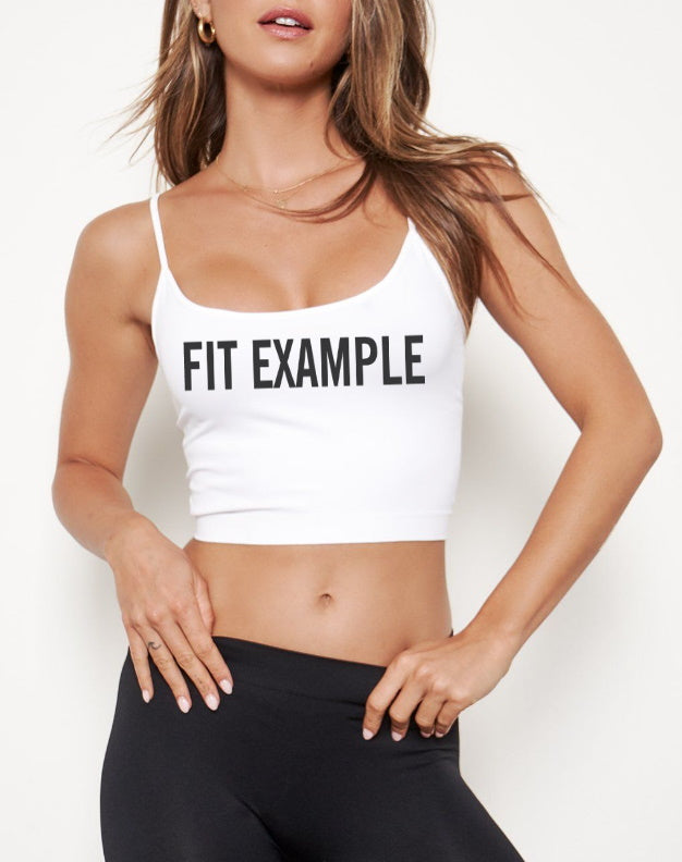 Full Send Seamless Spaghetti Strap Crop Top