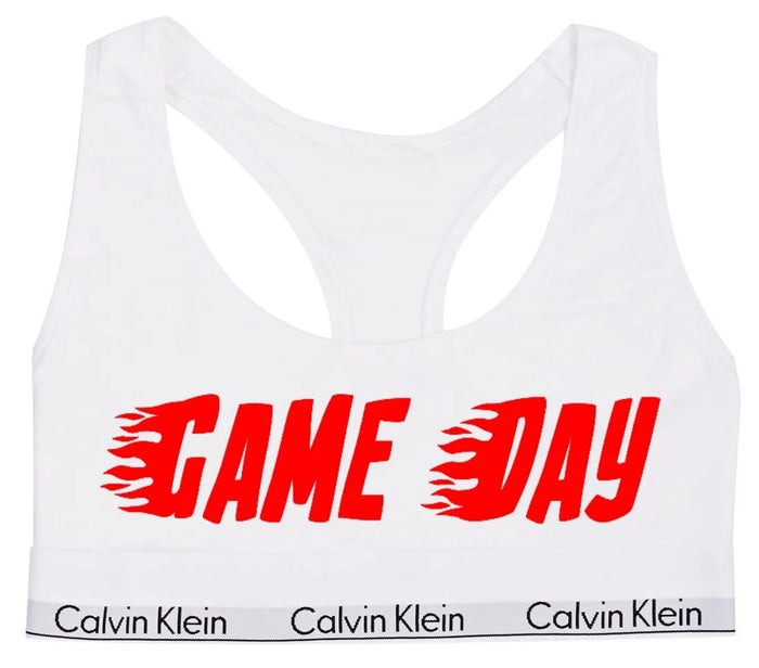 Game Day Cotton Bralette