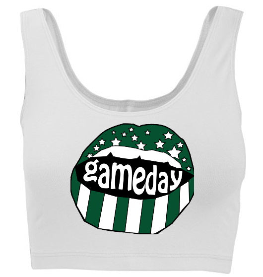 Gameday Stars Tank Crop Top
