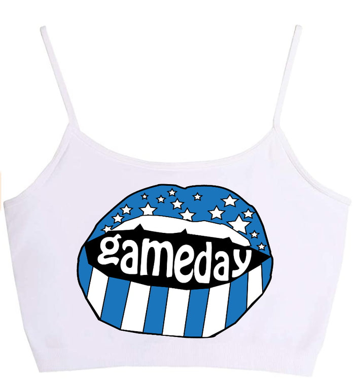 Gameday Stars Seamless Crop Top