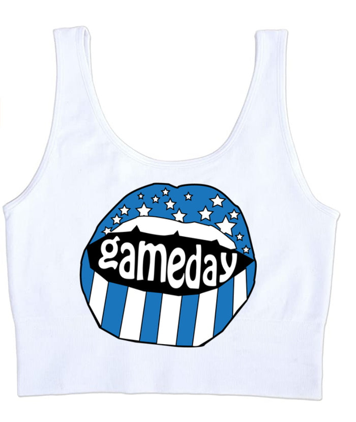 Gameday Stars Seamless Tank Crop Top