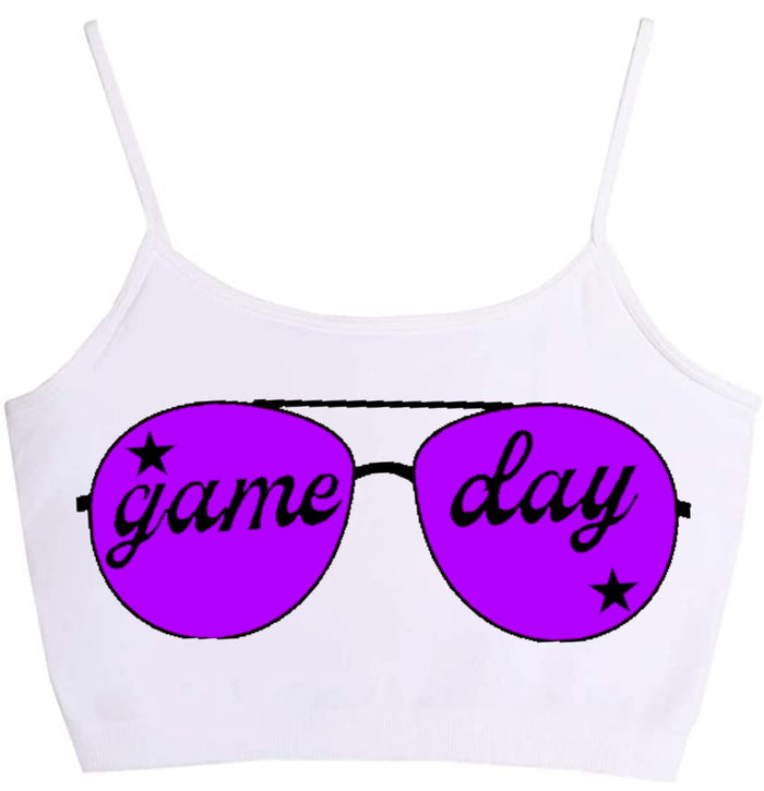 Gameday Shades Seamless Crop Top