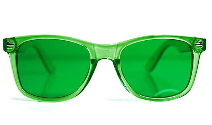 Green As Grass Candy Colored Sunglasses