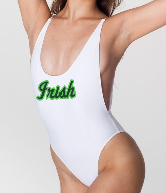 Irish Deep Cut Bodysuit