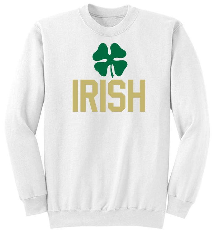 Irish Crew Neck Sweatshirt