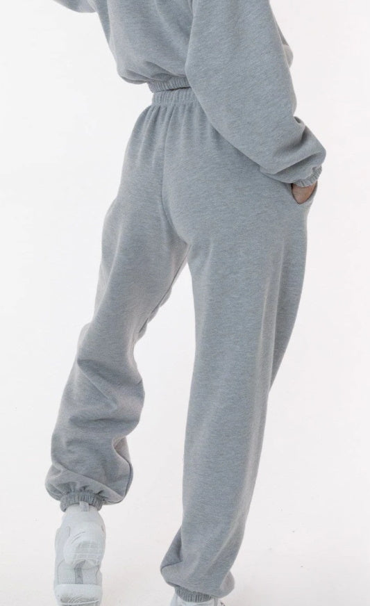 Fleece Lined High Waisted Sweatpants (Available in Eight Colors)