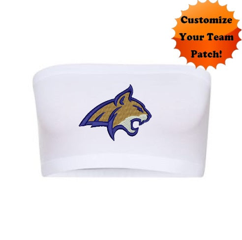 Custom Team Patch Seamless Bandeau (2 Colors Available)