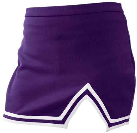Gameday Bae Signature Purple A-Line Notched Cheer Skirt