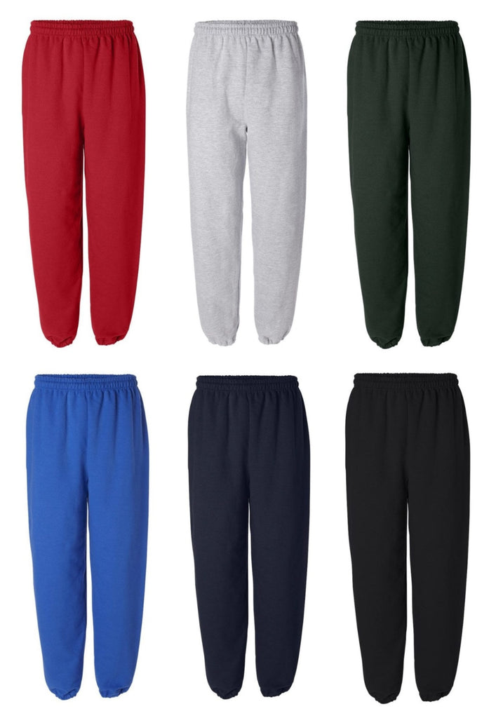 Custom Team Patch Sweatpants(Available in 6 Colors)