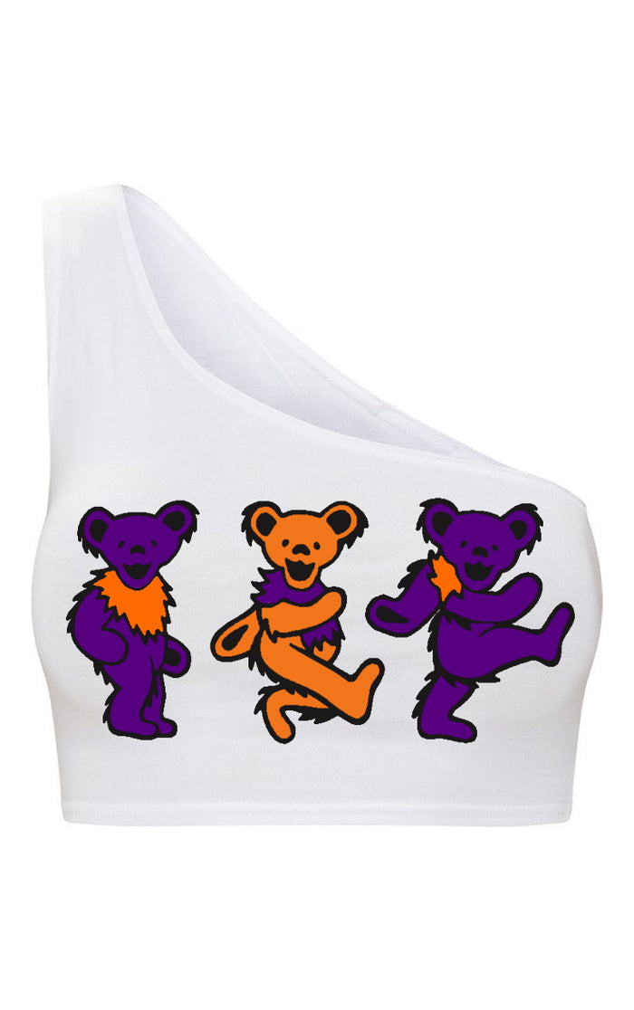 Teddies One Shoulder Sports Bra