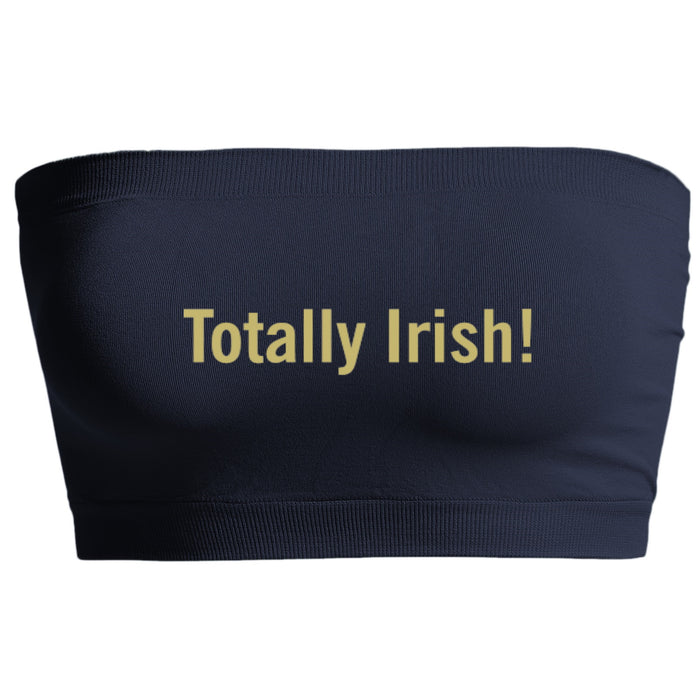 Totally Irish! Navy Seamless Bandeau