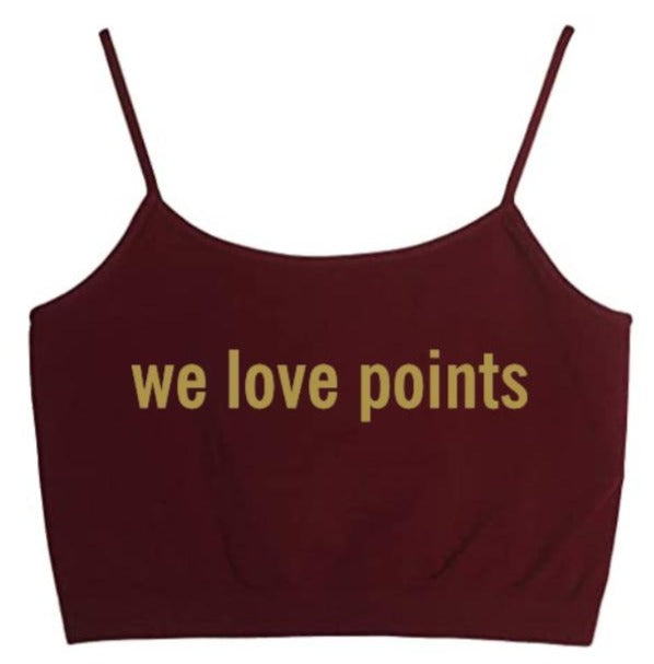 We Love Points Seamless Crop Top