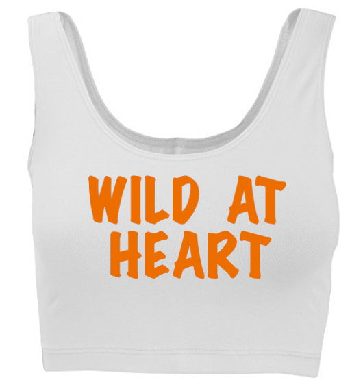 Wild At Heart Tank Crop Top