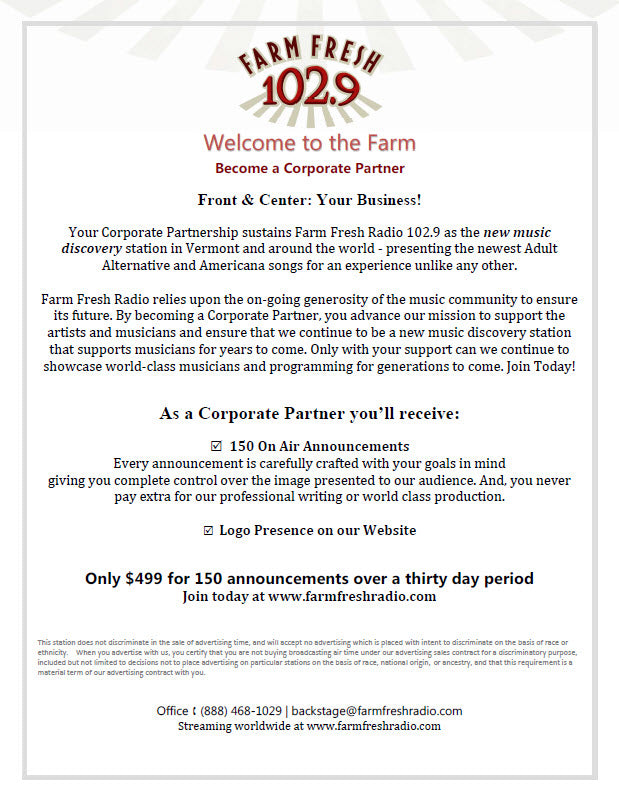 Become a Corporate Partner