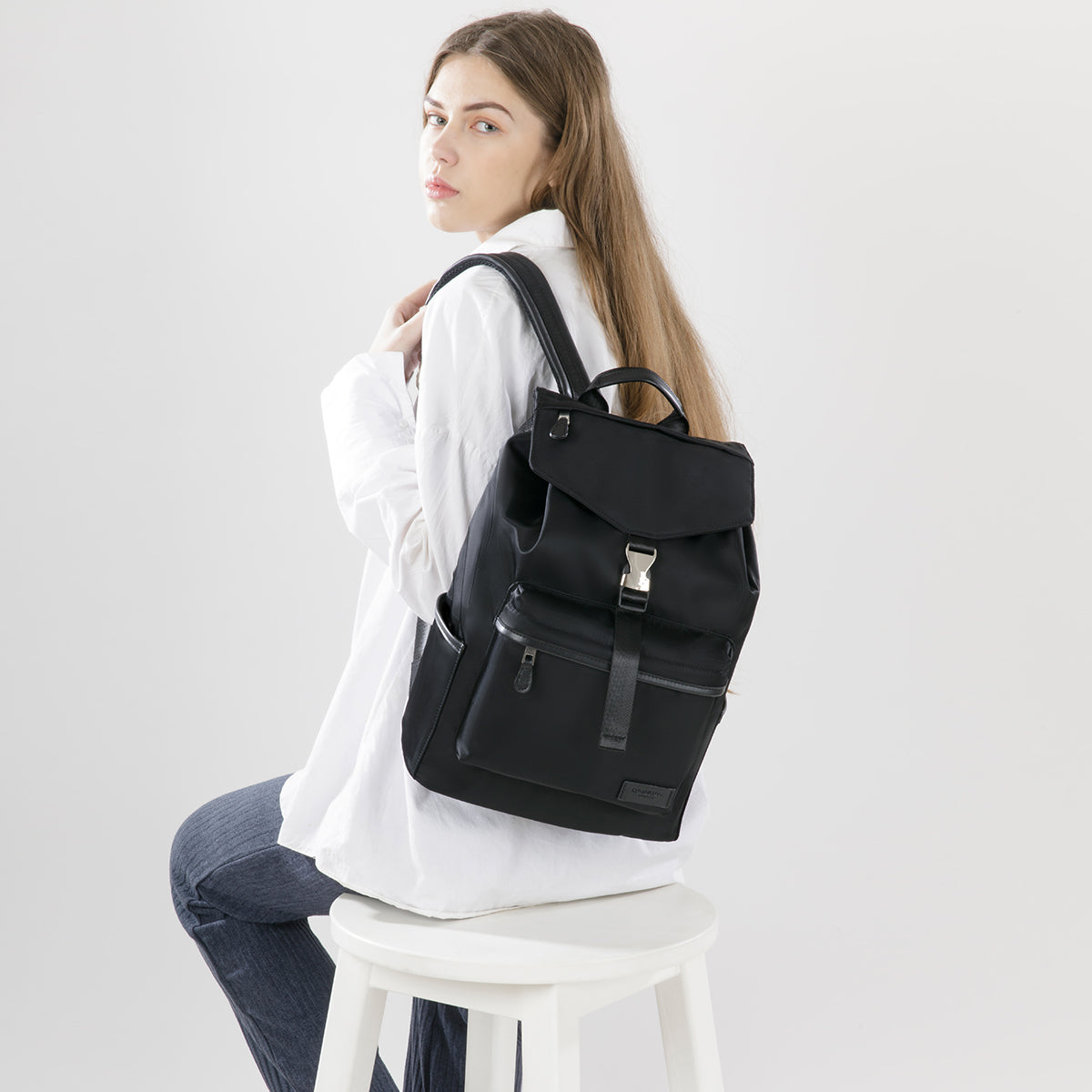 Kai Black Backpack