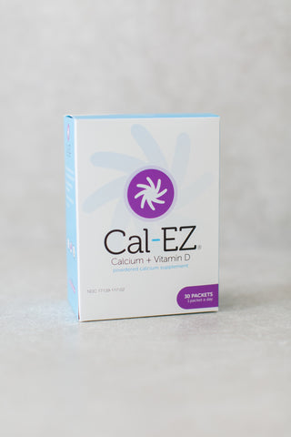 Cal-EZ® 1,000 mg Calcium + 1,000 IU Vitamin D: Three (3) 30-day supplies