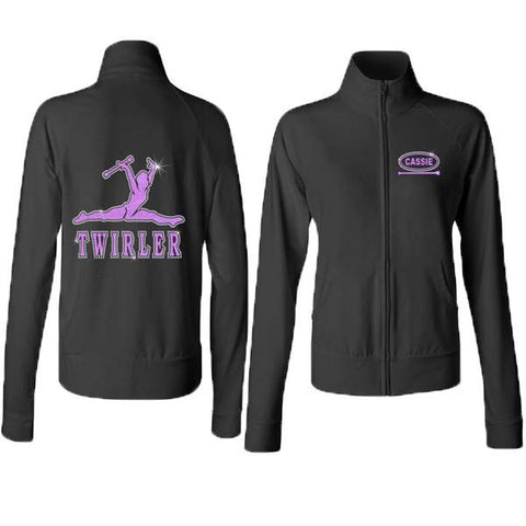 Full Zip Practice Jacket  **Jr. Fit and Youth Girls**