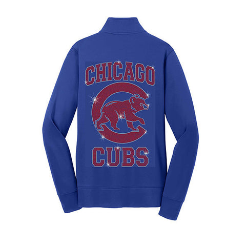 Cubs Moisture Wicking Ladies Jacket XS-4X